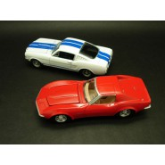 APOLLO 13 Set 2 Modellini 1:64 CHEVROLET CORVETTE 427 e SHELBY GT 350 Greenlight DIORAMA