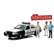 NOTTE DA LEONI Auto Polizia FORD CROWN VICTORIA e Figure 1:18 GREENLIGHT Collectibles
