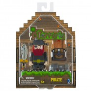 TERRARIA Action Figure PIRATE with Map and Cannon 7cm OFFICIAL Jazwares