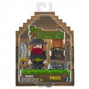 TERRARIA Figura Action PIRATA con Mappa e Cannone 7cm UFFICIALE Jazwares