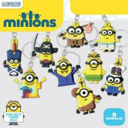SET 9 Figure MINIONS KEYCHAINS 2 Portachiavi COOLTHINGS Movie 2015