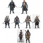 Figura Action ASSASSIN'S CREED 3 III 4 IV Black Flag Unity Rogue 15cm MCFARLANE