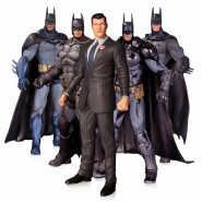 DC COLLECTIBLES Box 5 Figure Action 16cm BATMAN BRUCE WAYNE ARKHAM