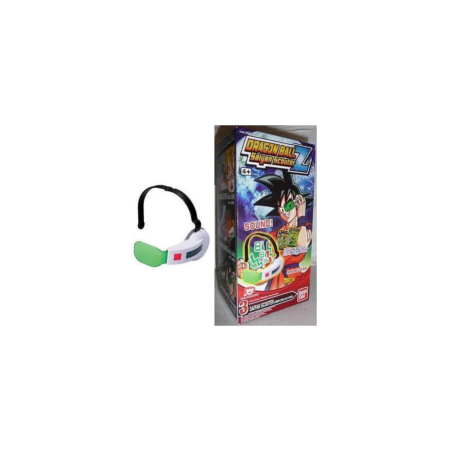 Dragonball z stupendo rilevatore scouter e carte suoni