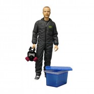 BREAKING BAD Figura Action GUS FRING Burned Face 15cm MEZCO Faccia Bruciata Morto