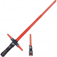 STAR WARS Spada Laser KYLO REN Elettronica COMPONIBILE Hasbro BLADEBUILDERS