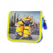 MINIONS MOVIE 2015 Shoulder Bag Kevin Stuart Bob 21x19ccm ORIGINAL Universal Picture
