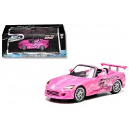 2 FAST 2 FURIOUS Model Car SUKI Honda S2000 Scale 1:43 DieCast GREENLIGHT