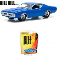 KILL BILL Model Car 1971 DODGE CHARGER Scale 1:64 GREENLIGHT Collectibles