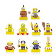 MINIONS Mini Figure SERIE 3 Lotto 10 FIGURE Nuove MEGA BLOKS Figures