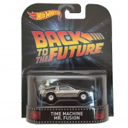 RITORNO AL FUTURO Modellino TIME MACHINE Mr Fusion 1:64 Hot Wheels MATTEL