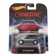 CHRISTINE Modellino Auto 1967 CAMARO 1:64 Hot Wheels MATTEL Die Cast