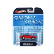 SIMON e SIMON Modellino 1985 CHEVROLET CAMARO IROC-Z 1:64 Hot Wheels MATTEL
