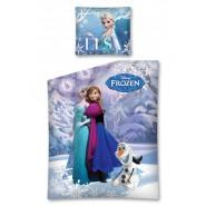FROZEN Elsa Anna Olaf ABBRACCIO Set Letto COPRIPIUMINO 140x200cm FEDERA Cotone ORIGINALE Disney