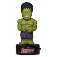 AVENGERS Figure THE HULK 16cm BODY KNOCKER Bobble NECA Solar Power MARVEL