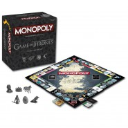 MONOPOLY Gioco Tavolo GAME OF THRONES Versione COLLECTORS EDITION Hasbro TRONO SPADE