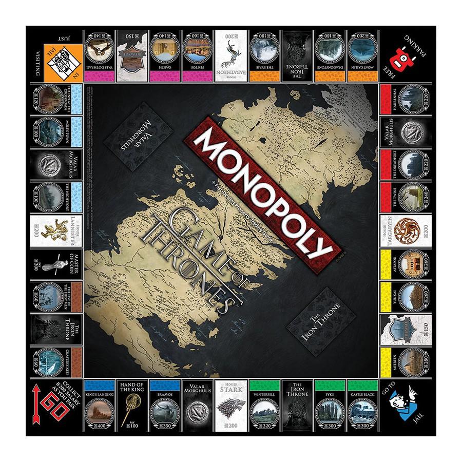 Monopoly gioco tavolo game of thrones versione collectors edition hasbro trono spade apecollection - Monopoli gioco da tavolo ...
