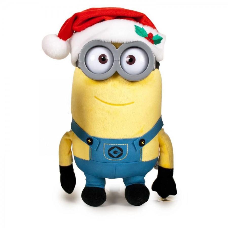 ... Plush MINION 30cm Christmas MINIONS KEVIN STUART BOB Xmas ...