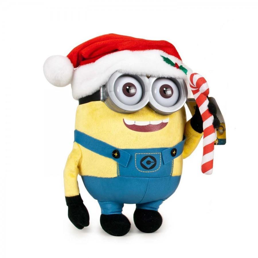 Immagini Minions Natale.Peluche Minions Natale Kevin Stuart Bob 30cm Minion A Scelta
