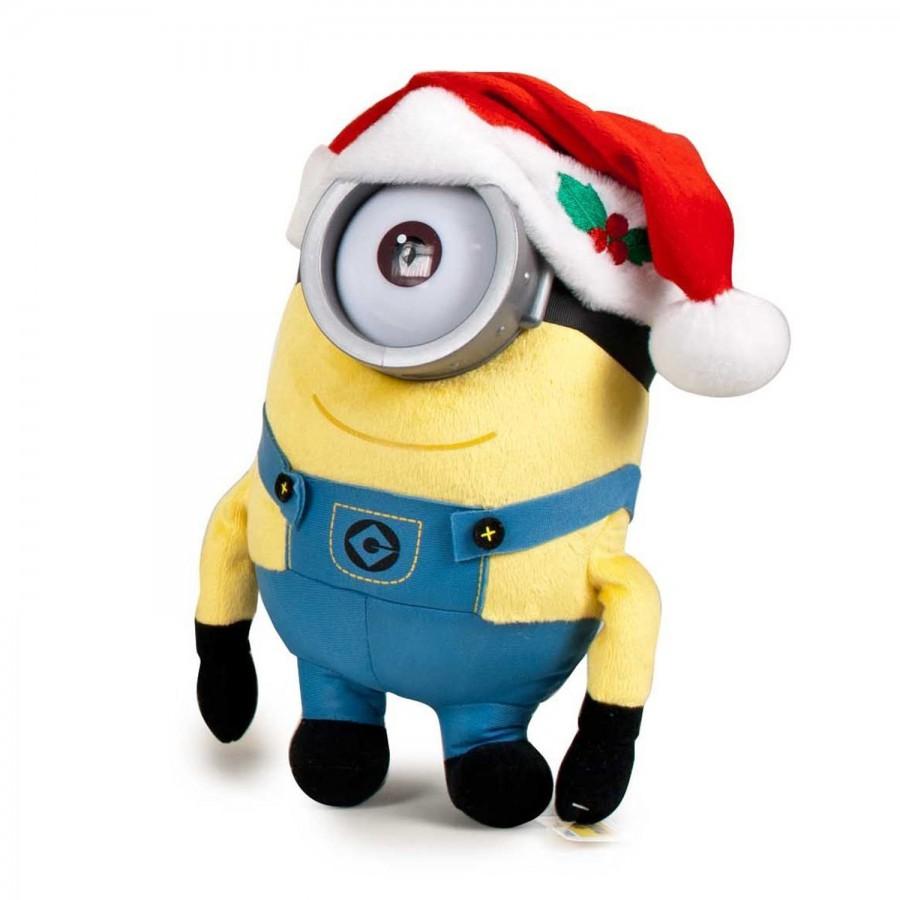 Plush MINION 30cm Christmas MINIONS KEVIN STUART BOB Xmas ...