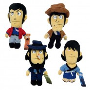 LUPIN the 3rd PLUSH Medium Size 27cm CHOOSE YOUR CHARACTER 100% ORIGINAL Official