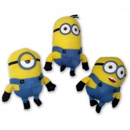 MINIONS Set 3 Plush MINION 2015 Movie 15cm Despicable Me