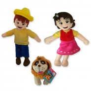 HEIDI PLUSH Choose Your Character 25cm HEIDI PETER JOSEPH Original FAMOSA