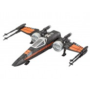 STAR WARS Model KIT 21cm POE'S X-WING FIGHTER Light Sound REVELL 1/78