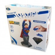 3D Puzzle Jigsaw SUPERMAN Bust Justice League  21cm