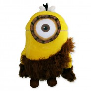 MINIONS MOVIE 2015 Plush MINION STUART CAVEMAN 30cm