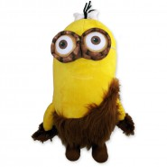 MINIONS MOVIE Film 2015 Peluche GIFT Minion KEVIN CAVERNICOLO 30cm