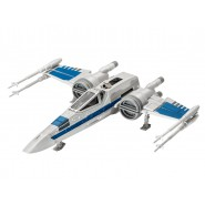 STAR WARS Modello 21cm X-WING FIGHTER di POE Luci Suoni KIT REVELL 1/78