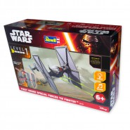 STAR WARS Modello 13cm TIE FIGHTER Luci Suoni KIT REVELL 1/51