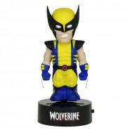 X-MEN Figura WOLVERINE 16cm BODY KNOCKER Bobble NECA Energia Solare MARVEL