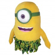 MINIONS MOVIE 2015 Plush STUART Beach Hawaii NUDE AU NATUREL Minion ENORMOUS 60cm Original OFFICIAL
