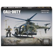 CHOPPER STRIKE Elicottero Playset COD Call Of Duty KIT Mega Bloks Costruzioni