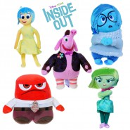 Plush 30cm INSIDE OUT Feelings JOY BING BONG ANGER JOY DISGUST SADNESS Original DISNEY PIXAR
