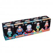 SET 5 Figure Action DORAEMON THE MOVIE 2015 TAITO Originali