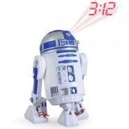 STAR WARS Alarm Clock PROJECTOR Droid R2-D2 Official DISNEY Lucas Film R2D2