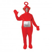 COSTUME Carnevale TELETUBBIES ROSSO PO Adulto RUBIE'S Rubies