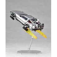 Modellino Auto DELOREAN da RITORNO FUTURO 2 Flight Mode Volo REVOLTECH Kaiyodo