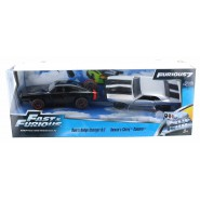 FAST and FURIOUS 7 2-PACK 2 Models DOM'S DODGE CHARGER R/T + ROMAN's CHEVY CAMARO Jada Toys