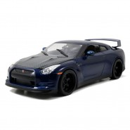 FAST and FURIOUS 7 Model Car Brian's NISSAN GT-R R35 Scale 1:18 25cm Original JADA 1/18