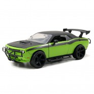 Modello Auto DODGE CHALLENGER SRT8 di LETTY Scala 1:24 Die Cast FAST FURIOUS 7 Jada