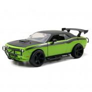 Modello Auto DODGE CHALLENGER SRT8 di LETTY Scala 1:24 Die Cast FAST FURIOUS 7 Jada