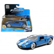 Model BLUE FORD GT 1:32 Die Cast FAST and FURIOUS 7 Jada