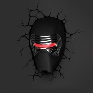 KYLO REN MASK Lamp LED Wall Light STAR WARS 3D LIGHT Philips OFFICIAL