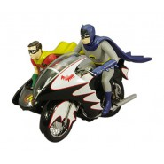BATMAN CLASSIC SERIE TV Modello BATCYCLE 1:12 MATTEL Hot Wheels ELITE Die Cast