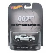 007 SPIA CHE MI AMAVA Modellino Auto LOTUS ESPRIT S1 1:64 Hot Wheels MATTEL CFR26