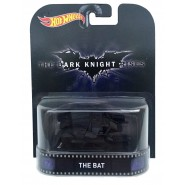 DARK KNIGHT RISES Modellino Aereo THE BAT Batman 1:64 Hot Wheels MATTEL